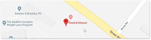 map for Flood & Masiuk LLC office